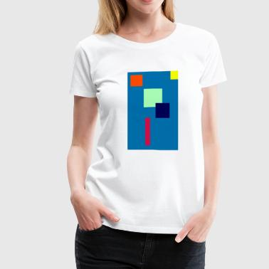 Wall Art 1 - Women's Premium T-Shirt