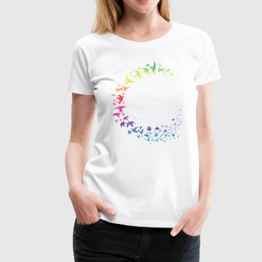 Rainbow flock - Women's Premium T-Shirt
