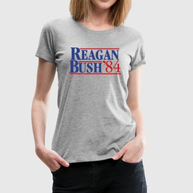 Reagan Bush '84 - Women's Premium T-Shirt