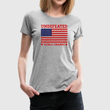 Undefeated World Champs - Women's Premium T-Shirt