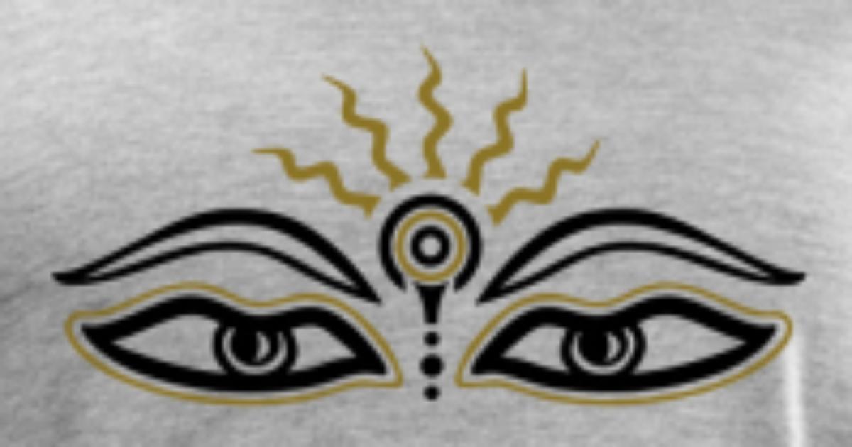 Buddha Third Eye Symbol Wisdom Enlightenment By Yuma Spreadshirt