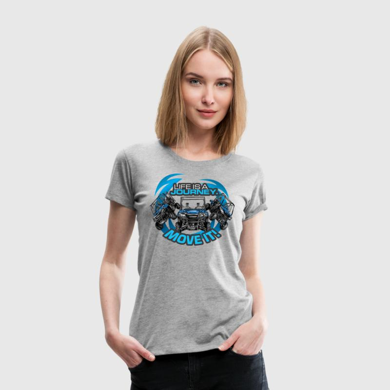 UTV SxS Move It Yamaha - Women's Premium T-Shirt