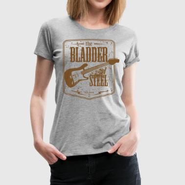 Steel Guitar bladder_of_steel_2 - Women's Premium T-Shirt