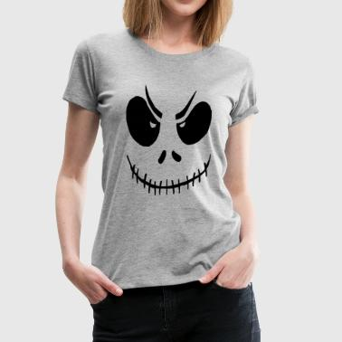 Bad Spirit Halloween Halloween Costume Bad Face - Women's Premium T-Shirt