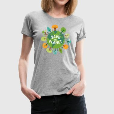 Urban Wildlife Ecology Save The Planet Ecology T-shirt - Women's Premium T-Shirt