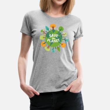 Marine Ecology Save The Planet Ecology T-shirt - Women's Premium T-Shirt