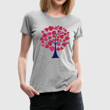 darr love tree - Women's Premium T-Shirt