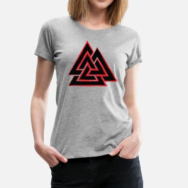 Have A Norse Day Valknut - Women's Premium T-Shirt