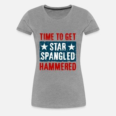 427e4b46dccd34 Star Spangled Hammered Women's Premium T-Shirt | Spreadshirt