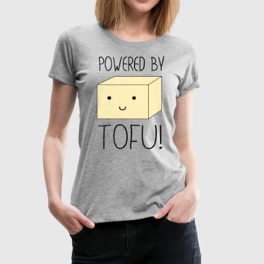 Powered by Tofu - Women's Premium T-Shirt