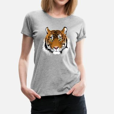 Tigers Leopards Tiger Leopard - Women's Premium T-Shirt