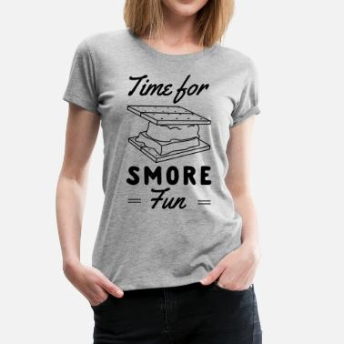 Funny Smores Time for smore fun - Women's Premium T-Shirt