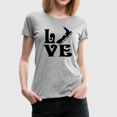 Love New Zealand Love New Zealand Shirt - Women's Premium T-Shirt