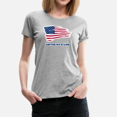 United We Are United we stand - Women's Premium T-Shirt