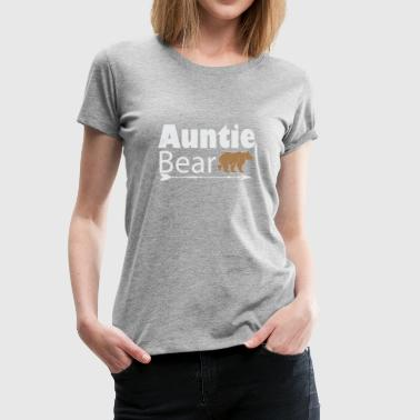 Womens Tribal Arrow Auntie Bear Shirt Aunt - Women's Premium T-Shirt