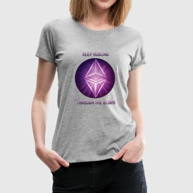 Ethereum the storm - Women's Premium T-Shirt