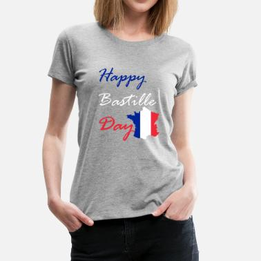 Happy Bastille Day - Women's Premium T-Shirt