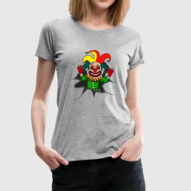 Bloody Clown Killer Clown - Women's Premium T-Shirt