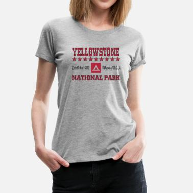 Yellowstone National Park Wyoming Yellowstone National Park - Women's Premium T-Shirt