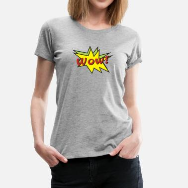 Balloon Jokes wow balloon - Women's Premium T-Shirt
