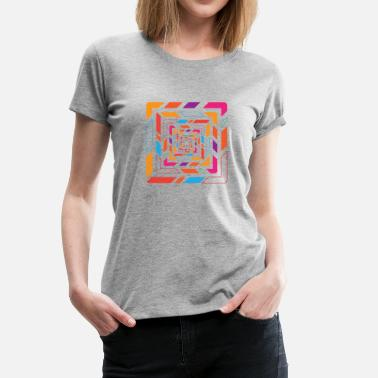 Shapes Abstract Abstract shape - Women's Premium T-Shirt