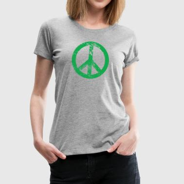 Peace Sign - Women's Premium T-Shirt