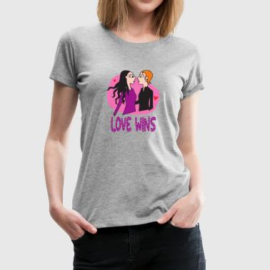 Love wins... Girls - Women's Premium T-Shirt