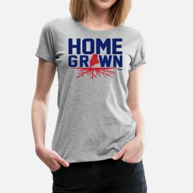 Homegrown Homegrown Maine - Women's Premium T-Shirt