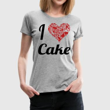 My Cake i love cake - Women's Premium T-Shirt