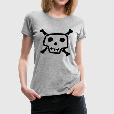 Skull And Bones - Women's Premium T-Shirt