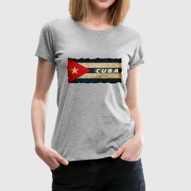 Cuba retro design - Women's Premium T-Shirt