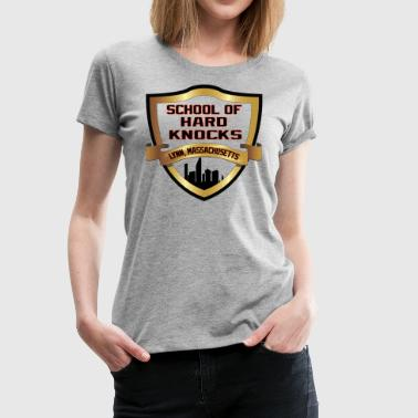 sckool of hard knocks.png - Women's Premium T-Shirt