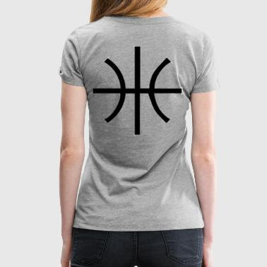 BBALL STRAIGHT - Women's Premium T-Shirt