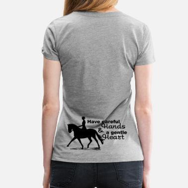 aae7aa99 Horse Dressage Horse - Women's Premium ...