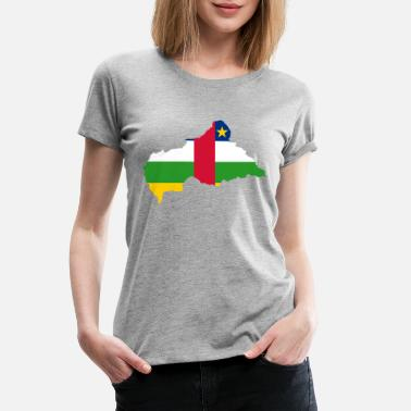 Central Asia central african republic - Women's Premium T-Shirt