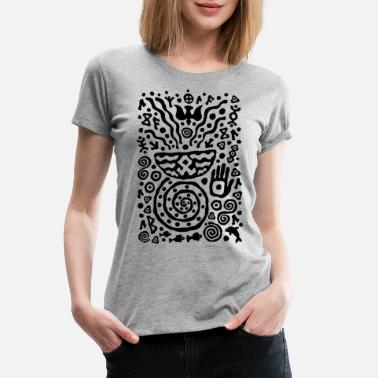 Talisman Hands of Talisman by Qenjo - Women's Premium T-Shirt