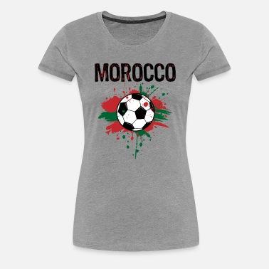 151818cbd79 Morocco Soccer Shirt Fan Football Gift Funny Cool Women's Jersey T ...