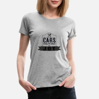 Platform Car Joy - Women's Premium T-Shirt