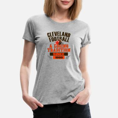 Ohio Sports Fun Cleveland Football Losing Since 1999 Design - Women's Premium T-Shirt