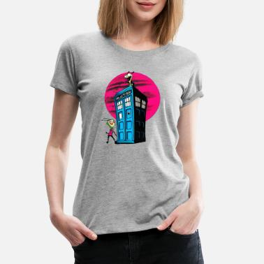 Blue Box Blue Box - Women's Premium T-Shirt
