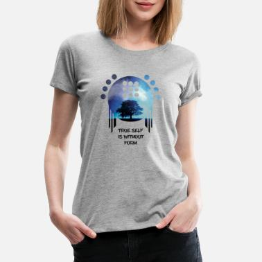 true self is without form - Women's Premium T-Shirt