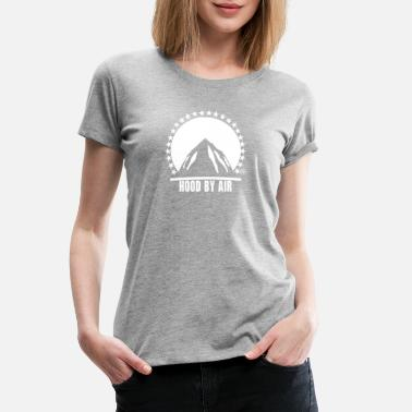 Pyrex Mountain Hood By Air Pyrex - Women's Premium T-Shirt