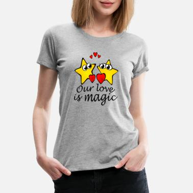 Promise Our love is magic - Women's Premium T-Shirt