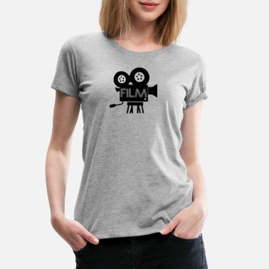 Film Camera camera film - Women's Premium T-Shirt
