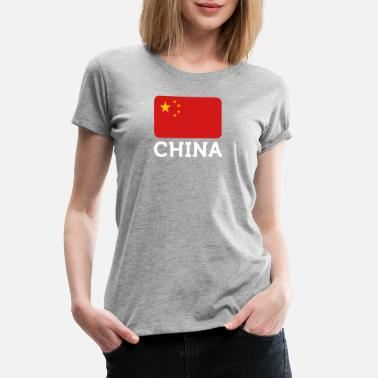 Republic Of China Flag National Flag Of China - Women's Premium T-Shirt