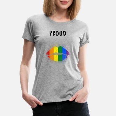 Proud LGBT Gay - Women's Premium T-Shirt