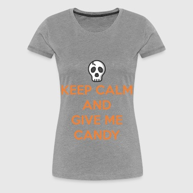 Halloween Give Me Candy - Women's Premium T-Shirt