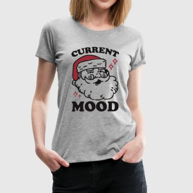 mood santa - Women's Premium T-Shirt