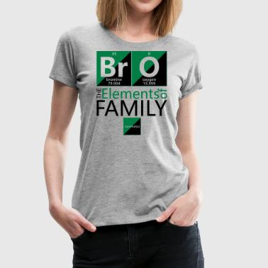 BrO (brother), The Elements of Family - Women's Premium T-Shirt
