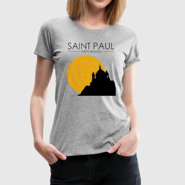 Cathedral Hill of Saint Paul - Women's Premium T-Shirt